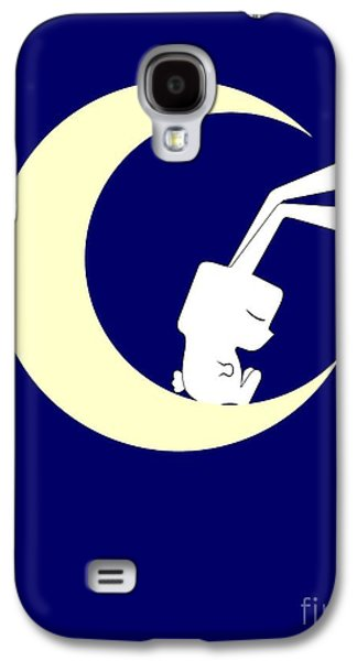 On The Moon Galaxy S4 Case by Kourai