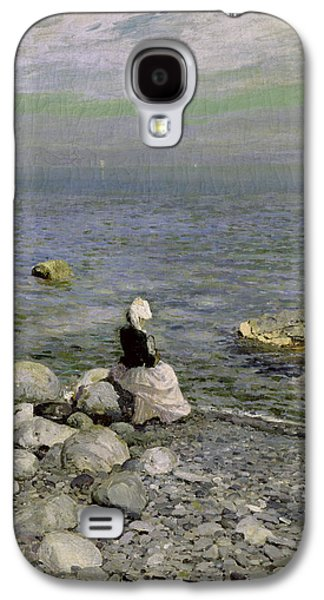 On The Shore Of The Black Sea Galaxy S4 Case by Konstantin Alekseevich Korovin