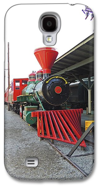 On The Tracks Galaxy S4 Case by Marian Bell