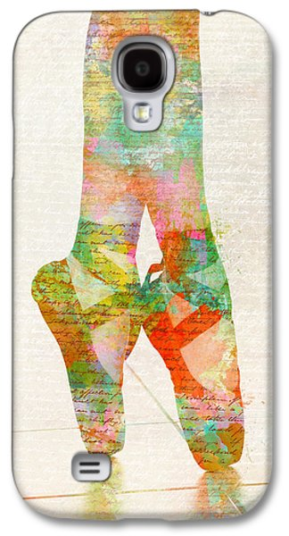 On Tippie Toes Galaxy S4 Case by Nikki Smith