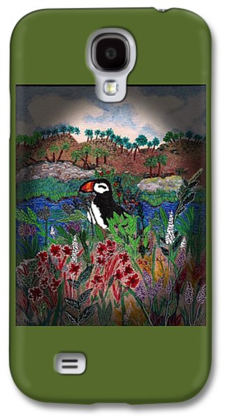 On Vacation Galaxy S4 Case by Christine Mulgrew