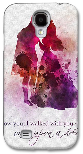 Once Upon A Dream Galaxy S4 Case by Rebecca Jenkins