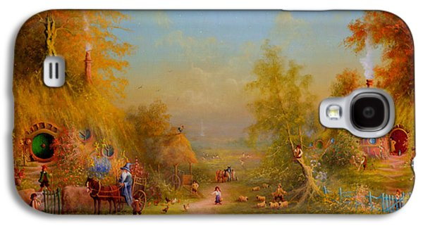 The Shire Once Upon A Time  Galaxy S4 Case by Joe Gilronan