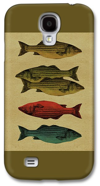 One Fish, Two Fish . . . Galaxy S4 Case by Meg Shearer