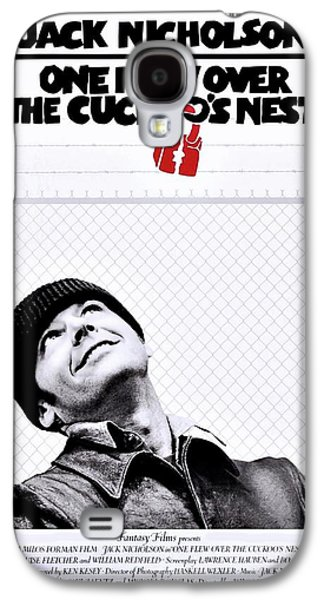 One Flew Over The Cuckoo's Nest Galaxy S4 Case by Movie Poster Prints