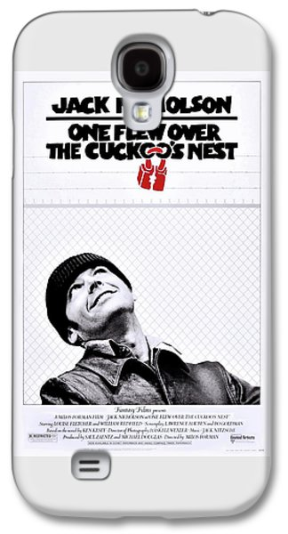 Jack Nicholson Galaxy S4 Case - One Flew Over The Cuckoo's Nest by Movie Poster Prints