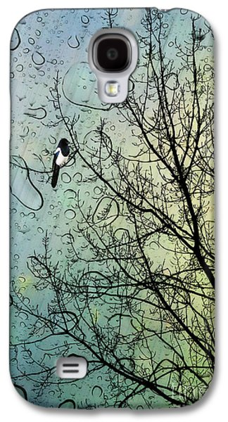 One For Sorrow Galaxy S4 Case by John Edwards