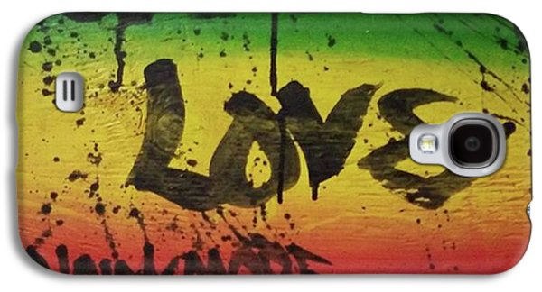 Galaxy S4 Case - One Love, Now More Than Ever By by Eyeon Energetic