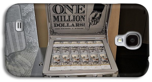 One Million Dollars In A Case Galaxy S4 Case by Thomas Woolworth