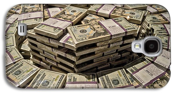 One Million Dollars In Twentys Galaxy S4 Case by Thomas Woolworth