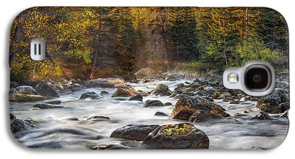 One Morning In The Absaroka Range Galaxy S4 Case by Leland D Howard