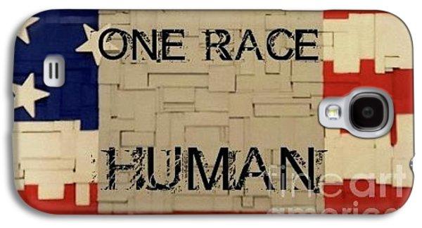 One Race Galaxy S4 Case by Judith Finch