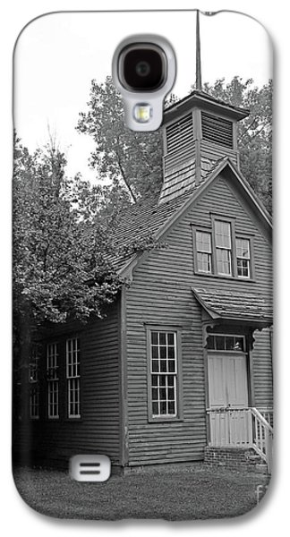 One Room Schoolhouse Black And White Galaxy S4 Case