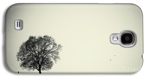 Trees Photographs Galaxy S4 Cases - One tree Galaxy S4 Case by Angela Doelling AD DESIGN Photo and PhotoArt