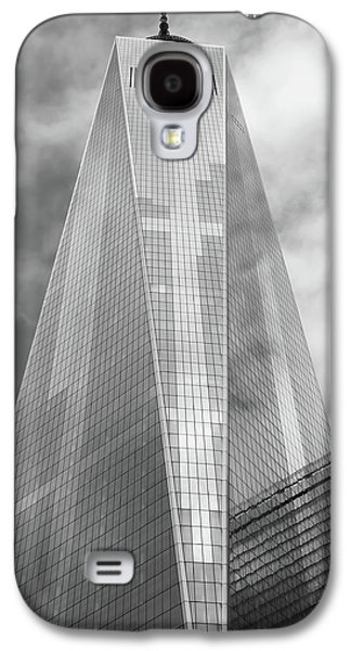 One World Trade Center Galaxy S4 Case by Rona Black
