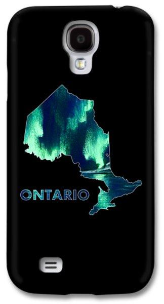 Ontario - Northern Lights - Aurora Hunters Galaxy S4 Case by Anastasiya Malakhova