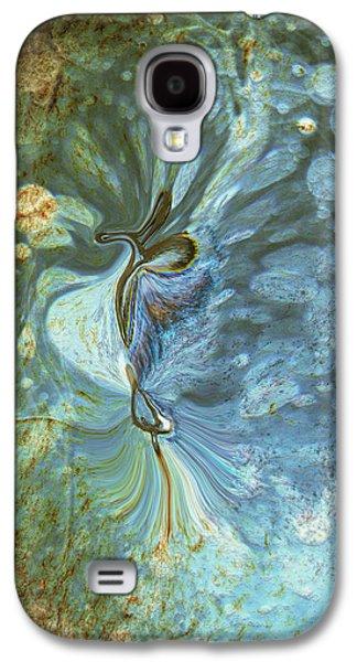Abstract Digital Digital Art Galaxy S4 Cases - Onward Galaxy S4 Case by Linda Sannuti