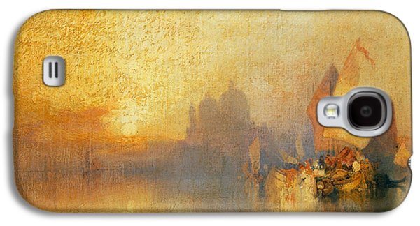 Opalescent Venice Galaxy S4 Case by Thomas Moran