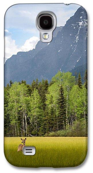Open Spaces // Glacier National Park  Galaxy S4 Case by Nicholas Parker