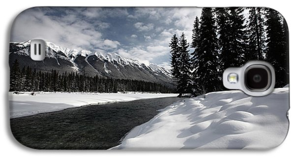 Open Water In Winter Galaxy S4 Case by Mark Duffy