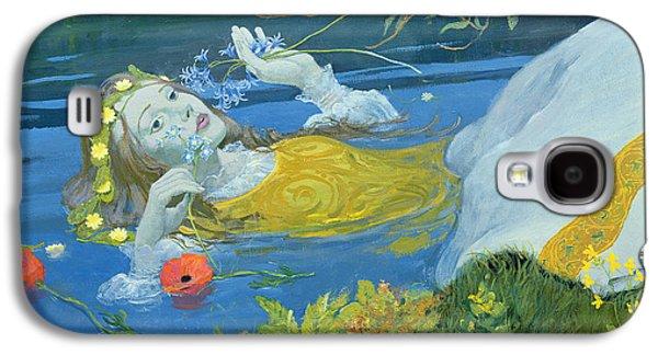 Ophelia Galaxy S4 Case by William Ireland