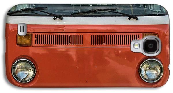 Orange Bus Galaxy S4 Case