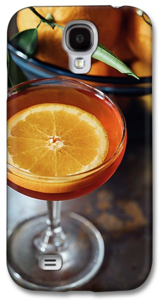 Orange Cocktail Galaxy S4 Case by Happy Home Artistry