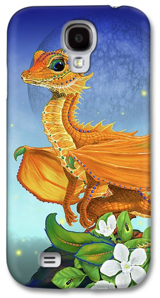 Orange Dragon Galaxy S4 Case