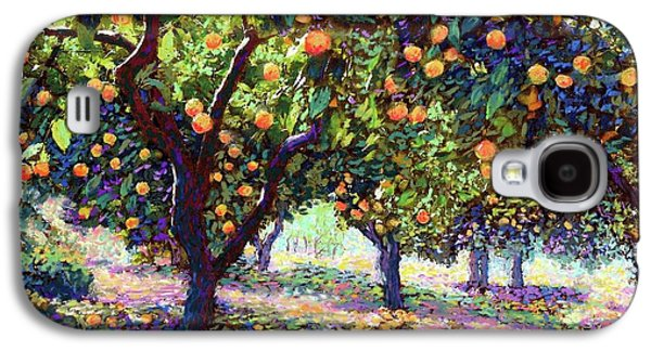 Universities Galaxy S4 Case -  Orange Grove Of Citrus Fruit Trees by Jane Small
