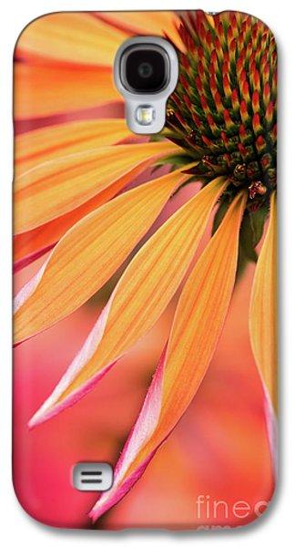 Orange Passion Galaxy S4 Case