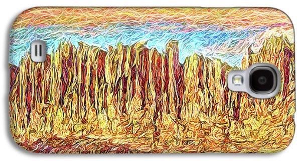 Orange Sky Cliffs - Colorado Galaxy S4 Case