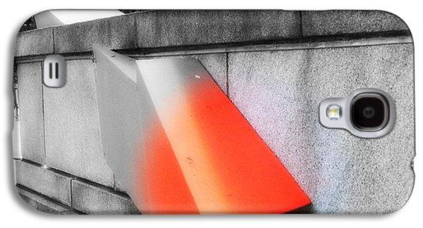 Orange Tipped Arrow Galaxy S4 Case