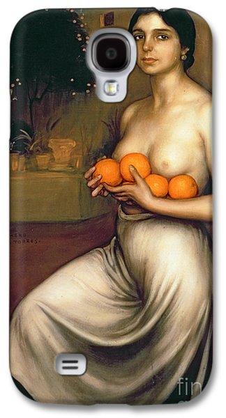 Oranges And Lemons Galaxy S4 Case by Julio Romero de Torres