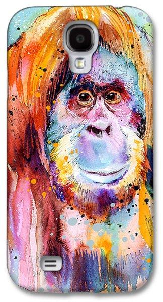 Orangutan  Galaxy S4 Case by Slavi Aladjova