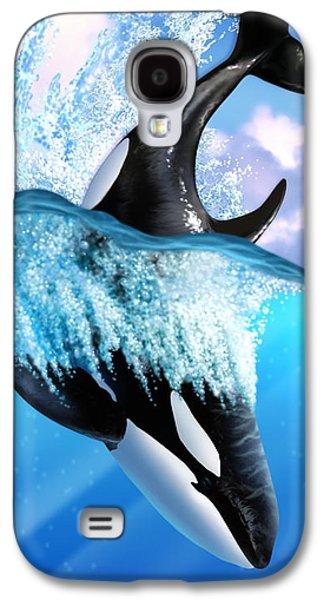 Orca 2 Galaxy S4 Case by Jerry LoFaro