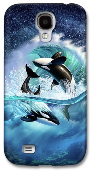 Orca Wave Galaxy S4 Case