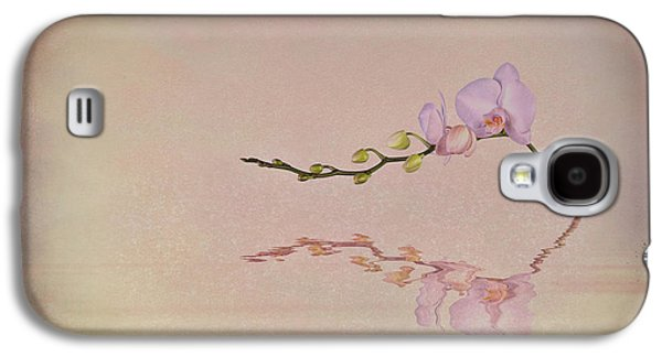 Orchid Galaxy S4 Case - Orchid Blooms And Buds by Tom Mc Nemar
