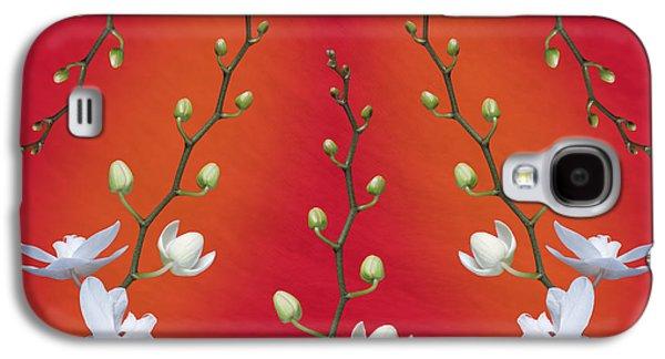 Orchid Ensemble Galaxy S4 Case by Tom Mc Nemar