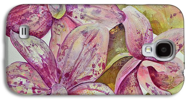 Orchid Galaxy S4 Case - Orchid Envy by Shadia Derbyshire