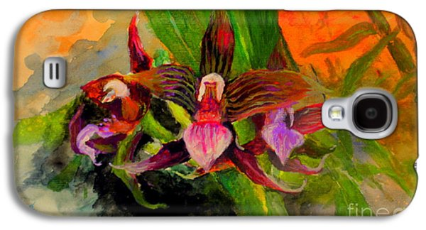Orchid Galaxy S4 Case