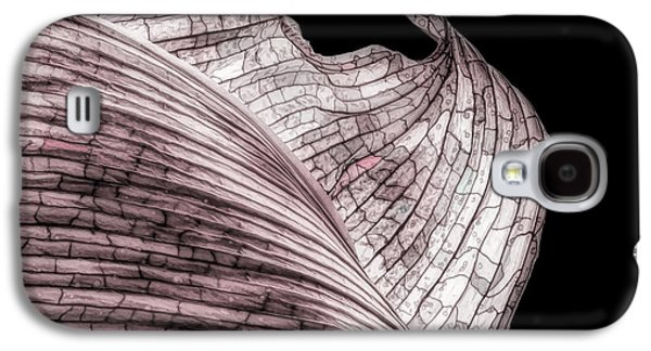 Orchid Galaxy S4 Case - Orchid Leaf Macro by Tom Mc Nemar
