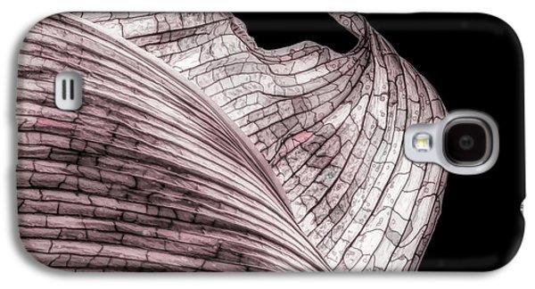 Orchid Galaxy S4 Case - Orchid Leaf Macro by Tom Mc Nemar