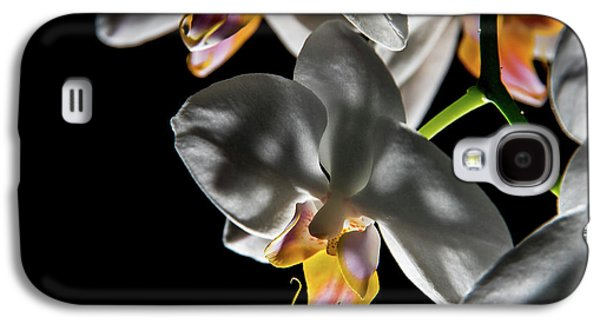 Orchid On Fire Galaxy S4 Case