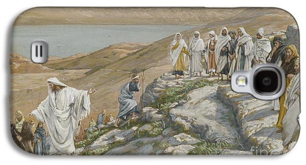 Religious Galaxy S4 Cases - Ordaining of the Twelve Apostles Galaxy S4 Case by Tissot