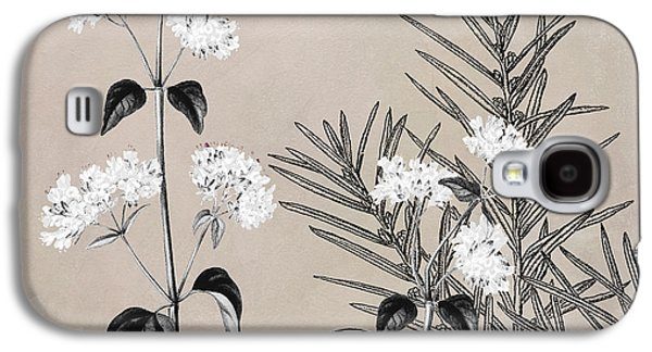 Oregano Flowering Herb Galaxy S4 Case by Mindy Sommers