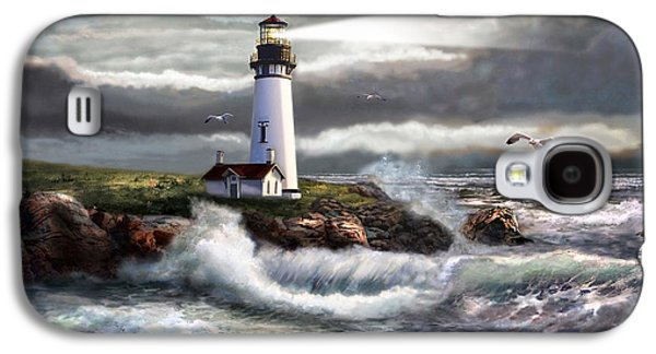 Oregon Lighthouse Beam Of Hope Galaxy S4 Case