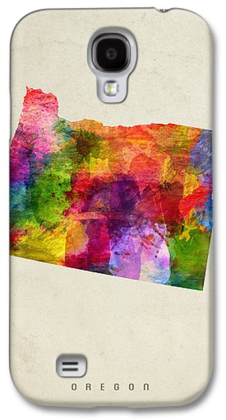Oregon State Map 02 Galaxy S4 Case by Aged Pixel