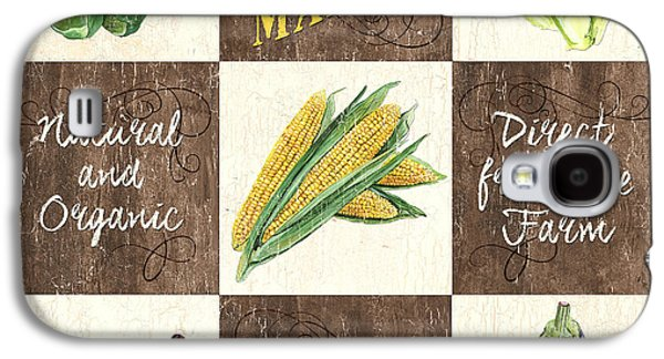 Organic Market Patch Galaxy S4 Case by Debbie DeWitt
