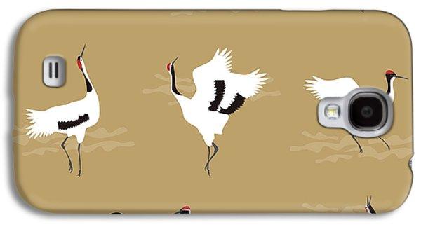 Oriental Cranes Galaxy S4 Case