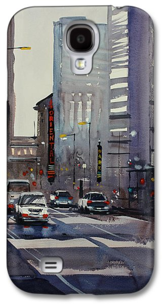 Historical Buildings Galaxy S4 Cases - Oriental Theater - Chicago Galaxy S4 Case by Ryan Radke